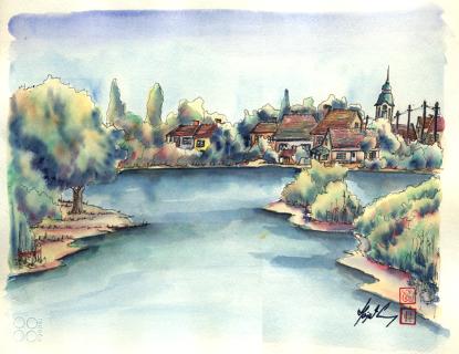 800 Selo Tomasevac na reci Tamis (Mobile)