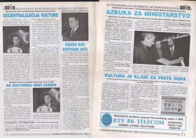 ART EXPO - Sajamske novine - 2002. (Small)